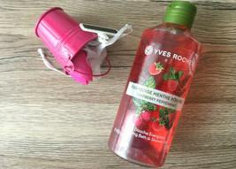 Yves rocher Relaxing ,Bath & Shower gel New 400 ML Raspberry peppermint - $24.99