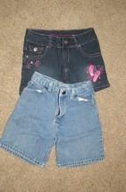 2 pair Arizona Blue Jean Shorts Size 10 Regular Girls - $8.99
