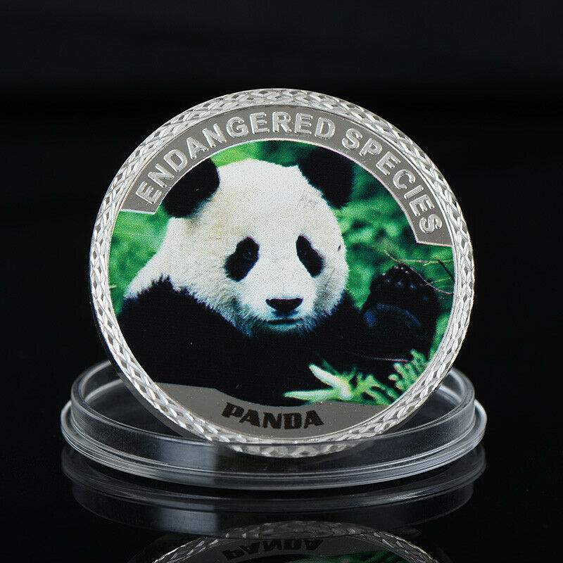 WR 2019 China Panda $100 Silver Commemorative Coin World Animal Protection