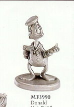 Disney Donald Duck Hitch Hiking Pewter - $43.53