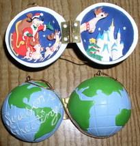 Disney  Goofy Hinged Box Rare ornament - $27.39