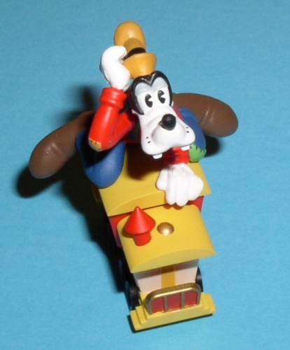 Disney Goofy Train rider  Rare Figurine