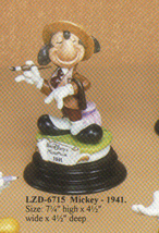 Disney Capodimonte Laurenz Mickey Mouse 1941 - $294.75