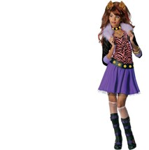 Monster High - Set - Costume + Wig - Clawdeen Wolf - Child - Large - Size 12-14 - $30.21