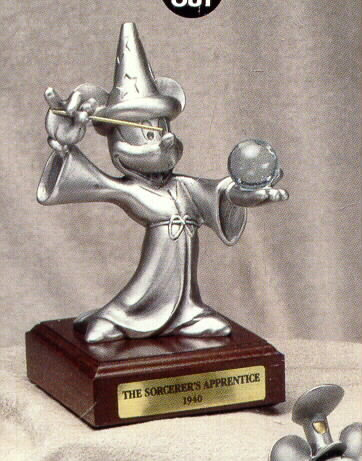 Disney  Mickey Sorcerer Rare Limited  Figurine