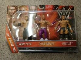 WWE NXT Superstars Sami Zayn, Tyler Breeze & Neville Mattel New - $24.50