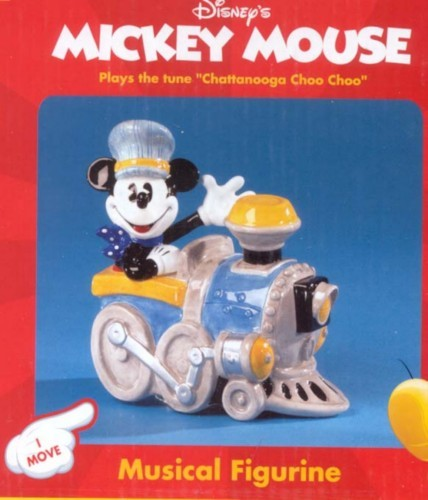 Disney Mickey Engineer Music Box
