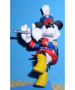 Disney Minnie Mouse plays the flute  Rare Figurine - $27.39