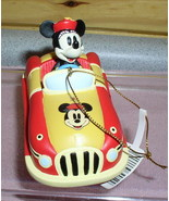 Disney Minnie Mouse Hot Rod yellow Car Rare - $18.59