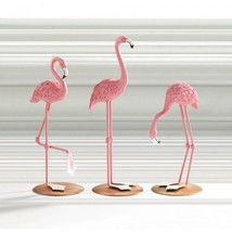 Tabletop Flamingo Trio - $26.00