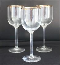 "1 LENOX CRYSTAL McKINLEY WINE GLASS GOBLET 7 1/4"" Watermarked Bottom Column Stem - $30.15"