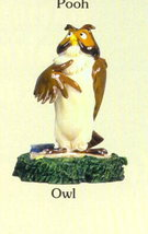 DISNEY Winnie the Pooh Owl Miniature - $15.95