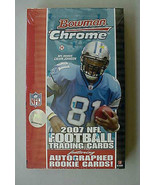 2007 Bowman CHROME NFL Football Factory Sealed ... - $86.23