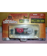 Small Soldiers Die Cast Buzz saw Tank Mint On Car - $19.34