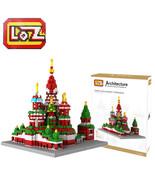 1 box LOZ Vasile Assumption Cathedral Building Blocks - $95.95
