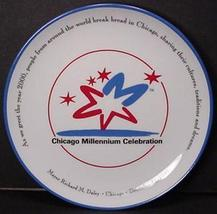 China Plate Chicago Millennium Celebration Souv... - $4.65