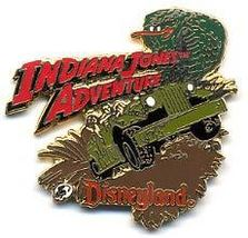 Disneyland Attraction Indiana Jones Adventure Pin/Pins - $75.99