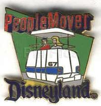 Disney DL - 1998  Attraction People Mover ride Pin/Pins - $21.23