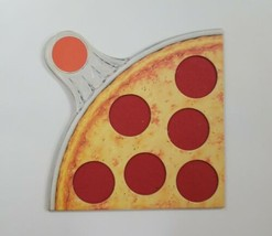 Pizza Party 1987 Parker Brothers Replacement Red Board Piece  - $12.19