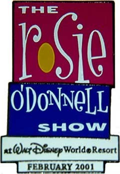 Primary image for Disney The Rosie O'Donnell Show at Walt Disney Pin/Pins