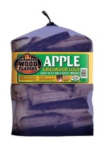 Barbeque Wood Flavors 60061 Apple Cooking Logs  25 lbs - $46.21