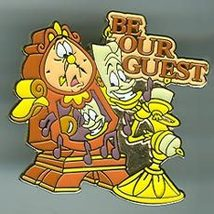 Disney Beauty & Beast Be Our Guest  Rare Pin/Pins - $19.34