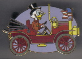 Disney Uncle Scrooge Convertible Car Auction Pin/Pins - $38.69