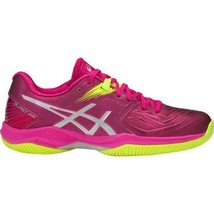 NEW Asics Gel Blast FF Pink Yellow Silver Indoor Court Shoes Sneakers - ... - $129.99