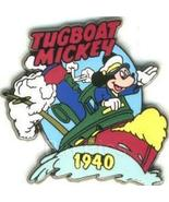 Disney Mickey Mouse Tugboat dated 1940 Pin/Pins - $19.98
