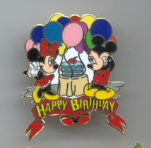 Disney Mickey & Minnie Happy Birthday Pin/Pins - $49.99
