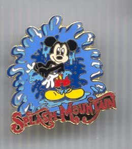 Disney Splash Mountain Mickey  Pin/Pins