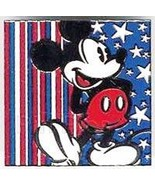 Disney Mickey Mouse  America Red White Blue Pin/Pins - $24.99