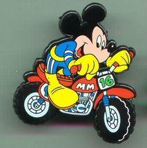 Disney  - Mickey Mouse motor cycle  Rare Pin - $16.83