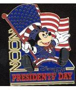 Disney Mickey Patriotic USA Presidents Dag Flag Pin - $22.24