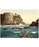1890s photo Ragusa, the fortification, Dalmatia, Austro-Hungary. vintage photo d - $12.19
