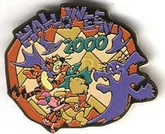 Primary image for Disney Halloween 2000 Pooh & Friends Japan Pin/Pins