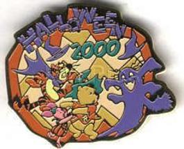 Disney Halloween 2000 Pooh & Friends Japan Pin/Pins - $19.95