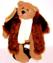 "Boyds Bears""Skidoo"" 9"" Plush Bear -  #9193-  NWT  -1998 -Retired - $11.99"