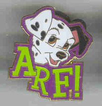 Disney 101 Dalmatians Arf! Lanyard CM only  pin/pins - $16.43