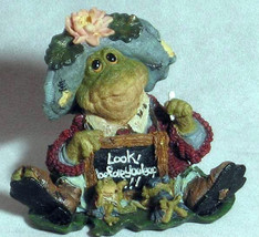 """Boyds Wee Folkstones """"MS. LILYPOND..Lesson Number One"""" #36705 -1E -NIB - Retired - $9.99"""