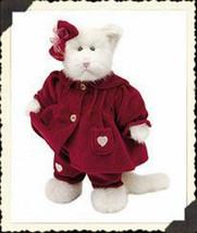 "Boyds Bears ""Felicia Fuzzbuns"" 12"" Plush Cat - #912090 - NWT - 2000 - $26.99"