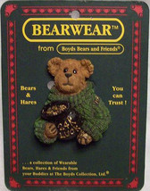 "Boyds BearWear ""Lucky Liam.. End of The Rainbow"" Lapel Pin-#26158- New -Retired - $9.99"