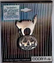 Nightmare Before Christmas cat on pumpkin pin/pins - $69.29