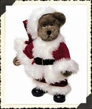 "Boyds Bears ""Claus Kringlebeary"" 14"" Plush Bear- #917311-01* NWT-2001 -Retired - $39.99"