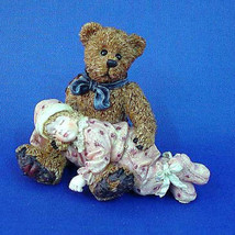 """Boyds Dollstone""""Shelby..Asleep in Teddy's Arms"""" #3527 -NIB- 1998- Retired - $12.99"""