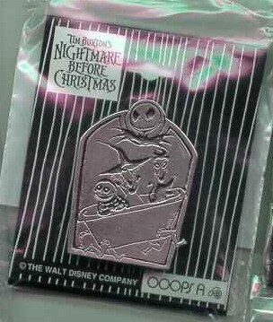 Nightmare Be4 Christmas LSB in Bathtub pin/pins