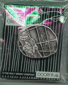 Nightmare Before Christmas - Sally - Window - pin/pins