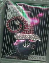 Nightmare Before Christmas Jack Santa Jeweled pin/pins - $193.49
