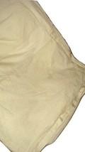 Charisma Bianca Off-White Cream Pleated King Size Luxury Duvet Cover EUC - $119.97
