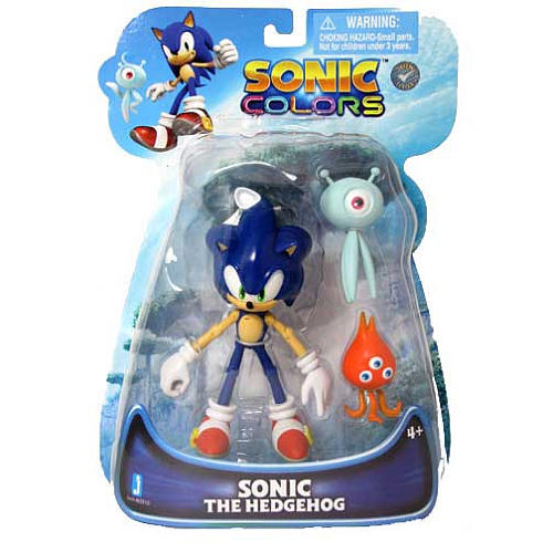 Sonic The Hedgehog: Sonic Colors 5 inch Action Figure Brand NEW!  - $94.99